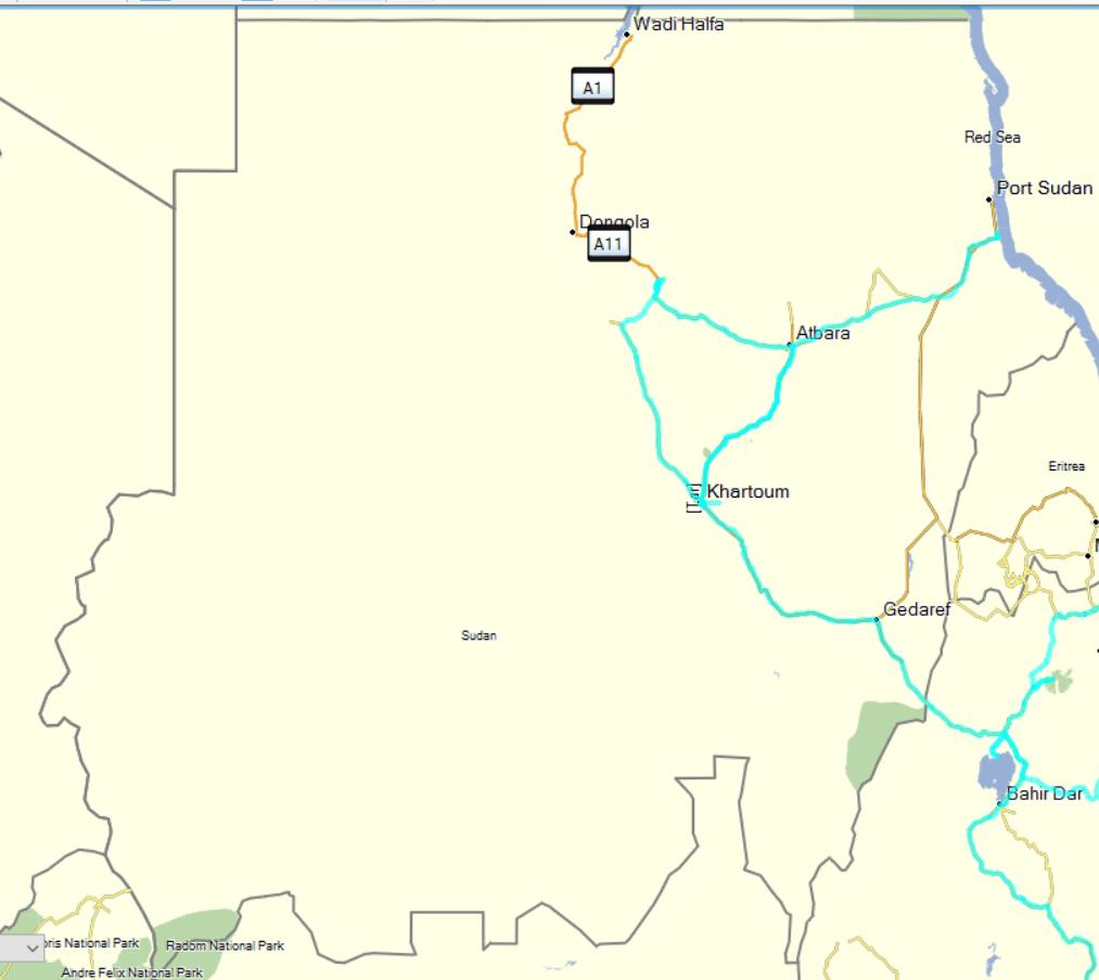 tracks sudan