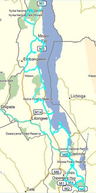 Route Malawi