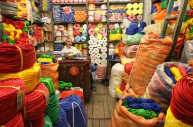 De vele markten in Iran